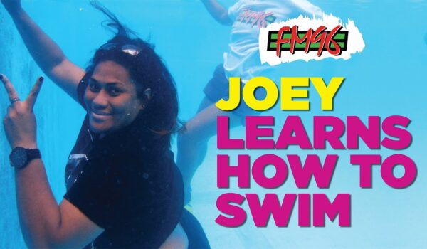 FM96 – Joey learns how to swim