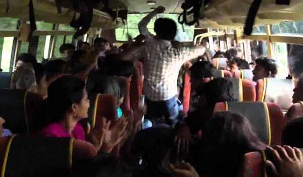 Naitasiri Bus Passengers Having a Bit Too Much Fun After Government Announcement