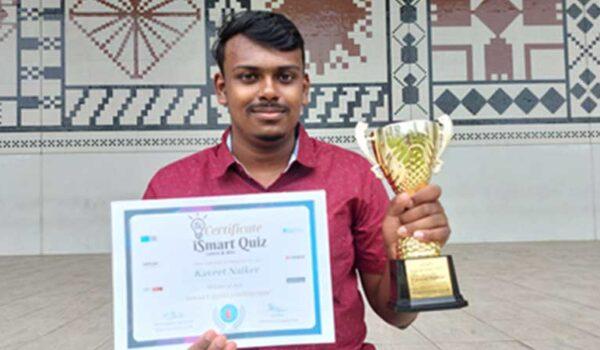 USP civil engineering student wins worldwide science quiz