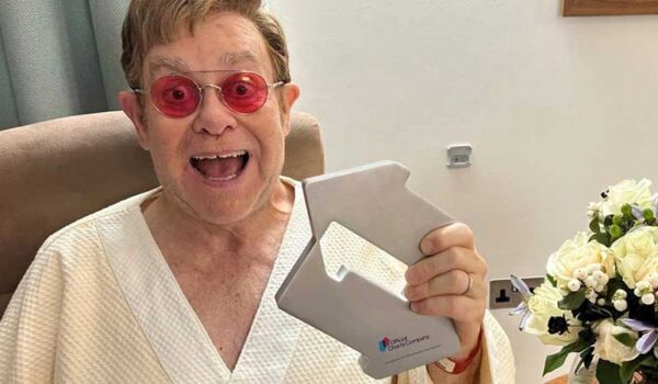 Elton John Scores Number One in 16 Years with Cold Heart (PNAU REMIX)